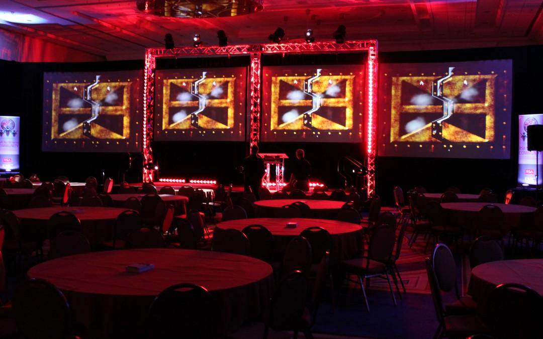 JVP_4 Screen Truss Stage